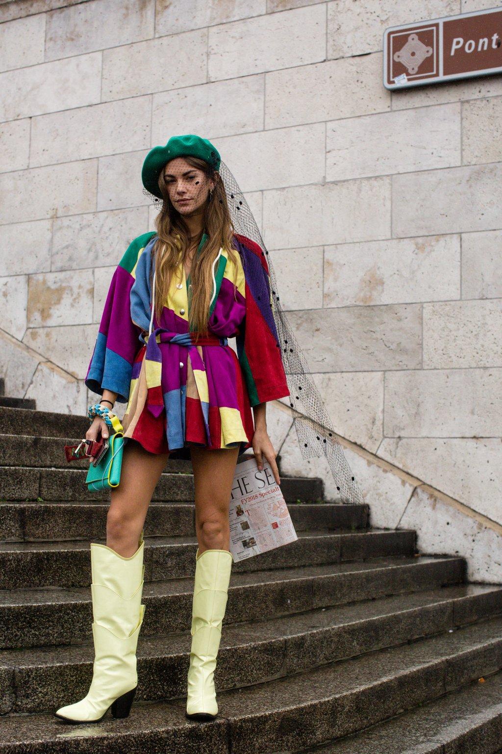 Znalezione obrazy dla zapytania street fashion paris 2020
