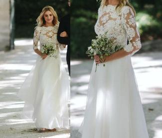 Kasia Tusk wystawiła swoją suknię ślubną na WOŚP