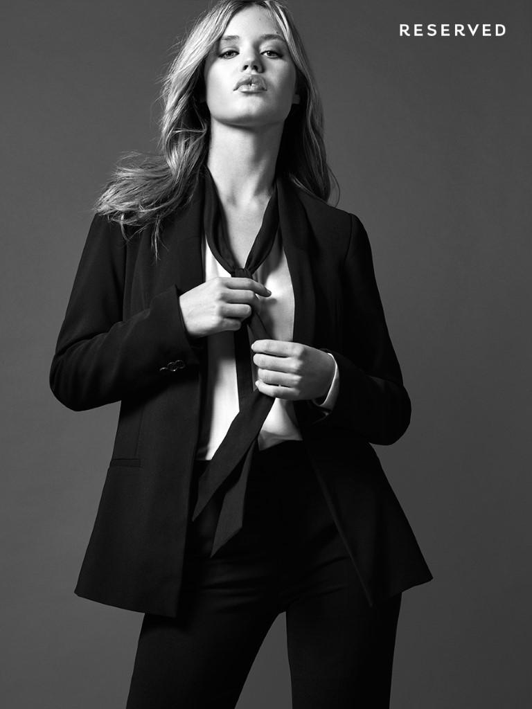 Georgia May Jagger dla Reserved jesień-zima 2015