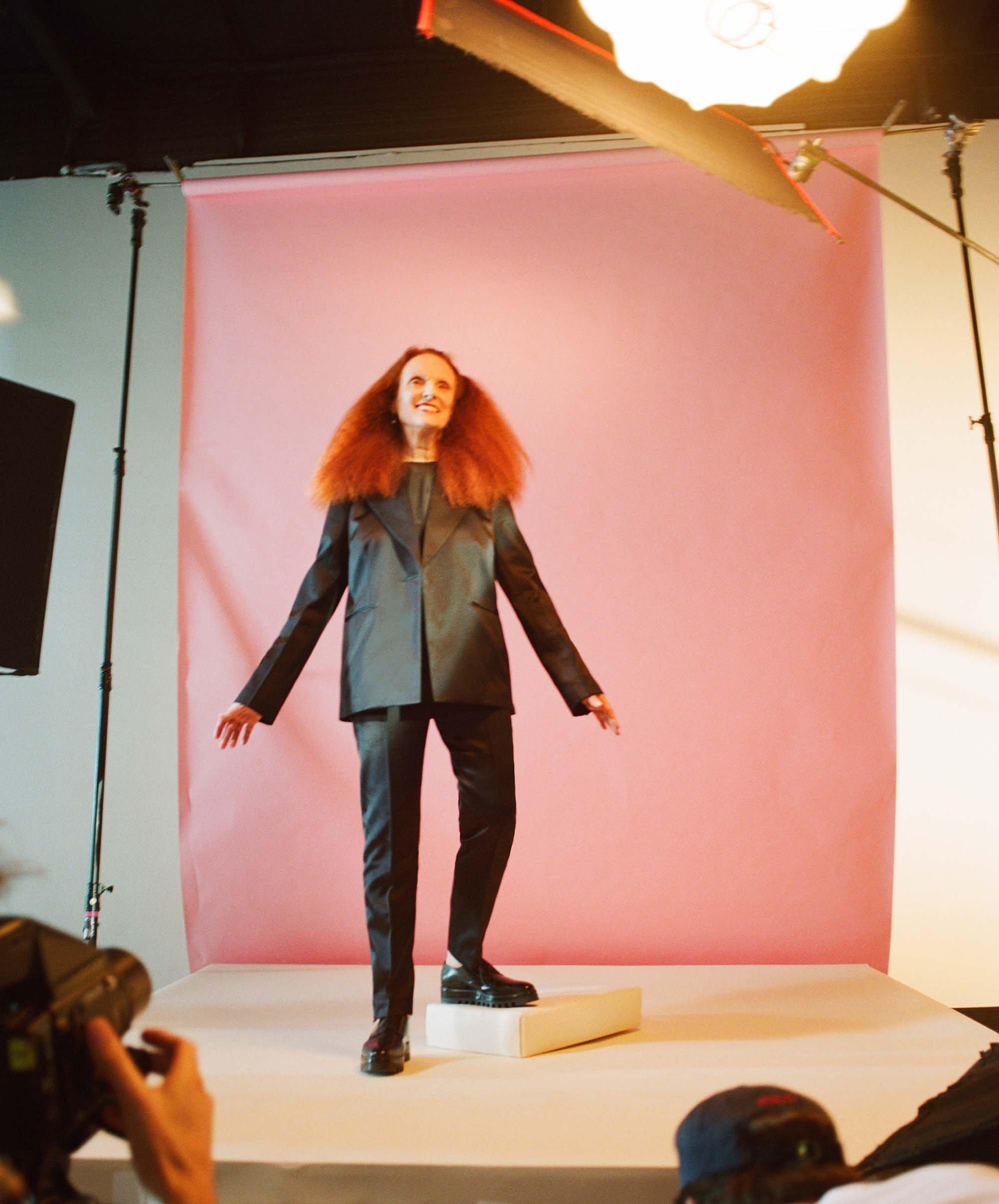 Grace Coddington wraca do modelingu