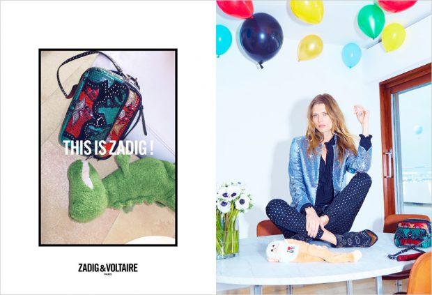 Małgosia Bela gwiazdą kampanii Zadig&Voltaire jesień-zima 2016