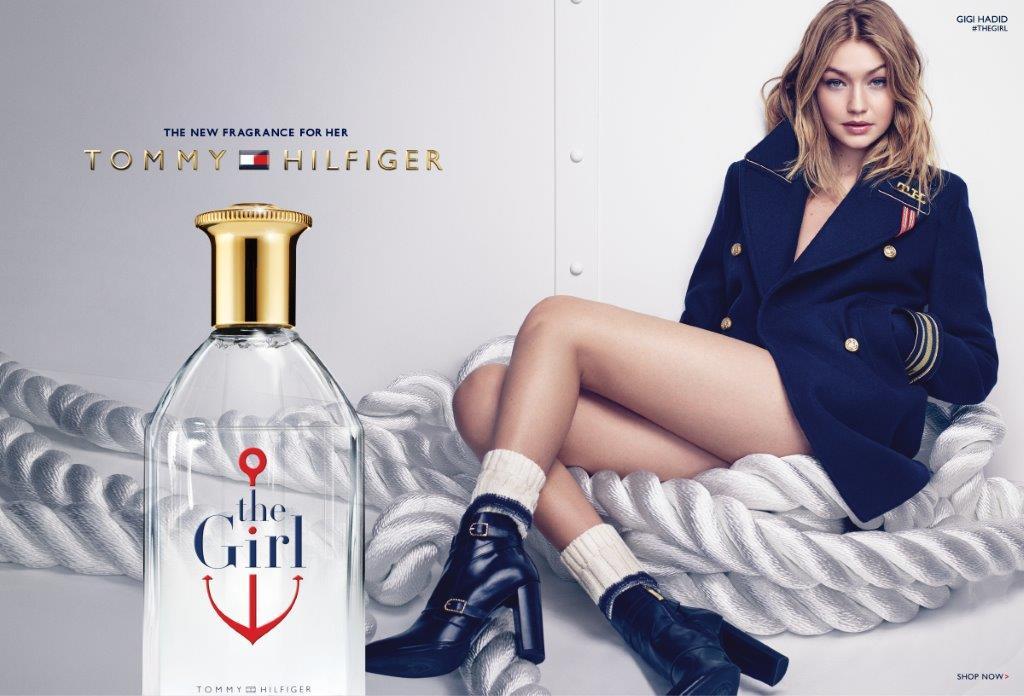 """Gigi Hadid twarzą nowego zapachu Tommy Hilfiger """"The Girl"""""""