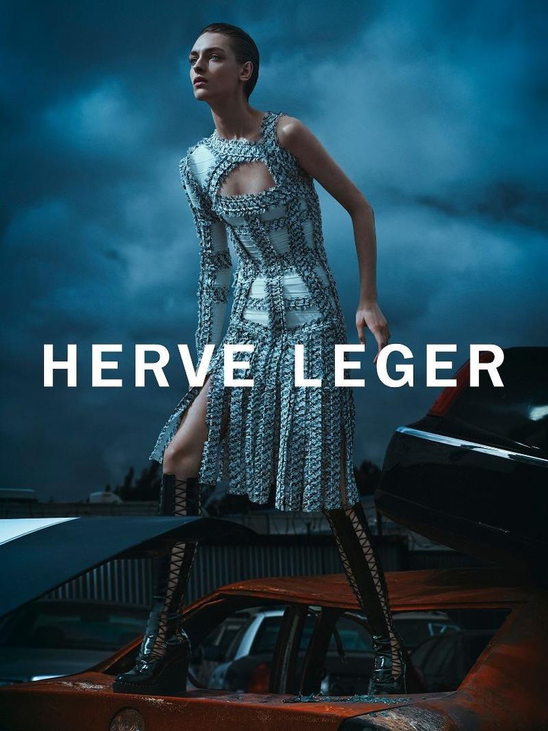 Daga Ziober dla Herve Leger jesień-zima 2016