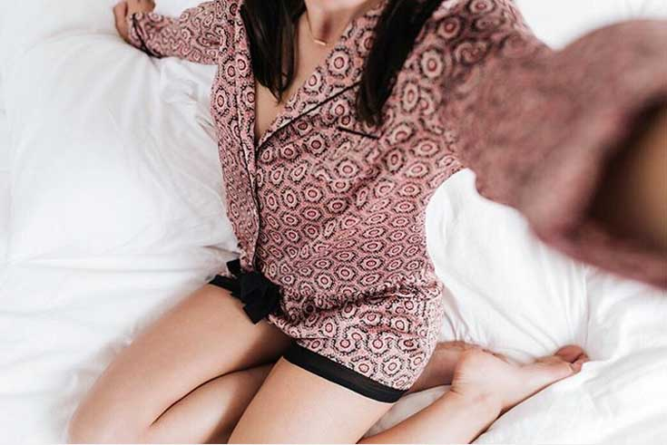 Etam: damskie piżamy z męskim pierwiastkiem