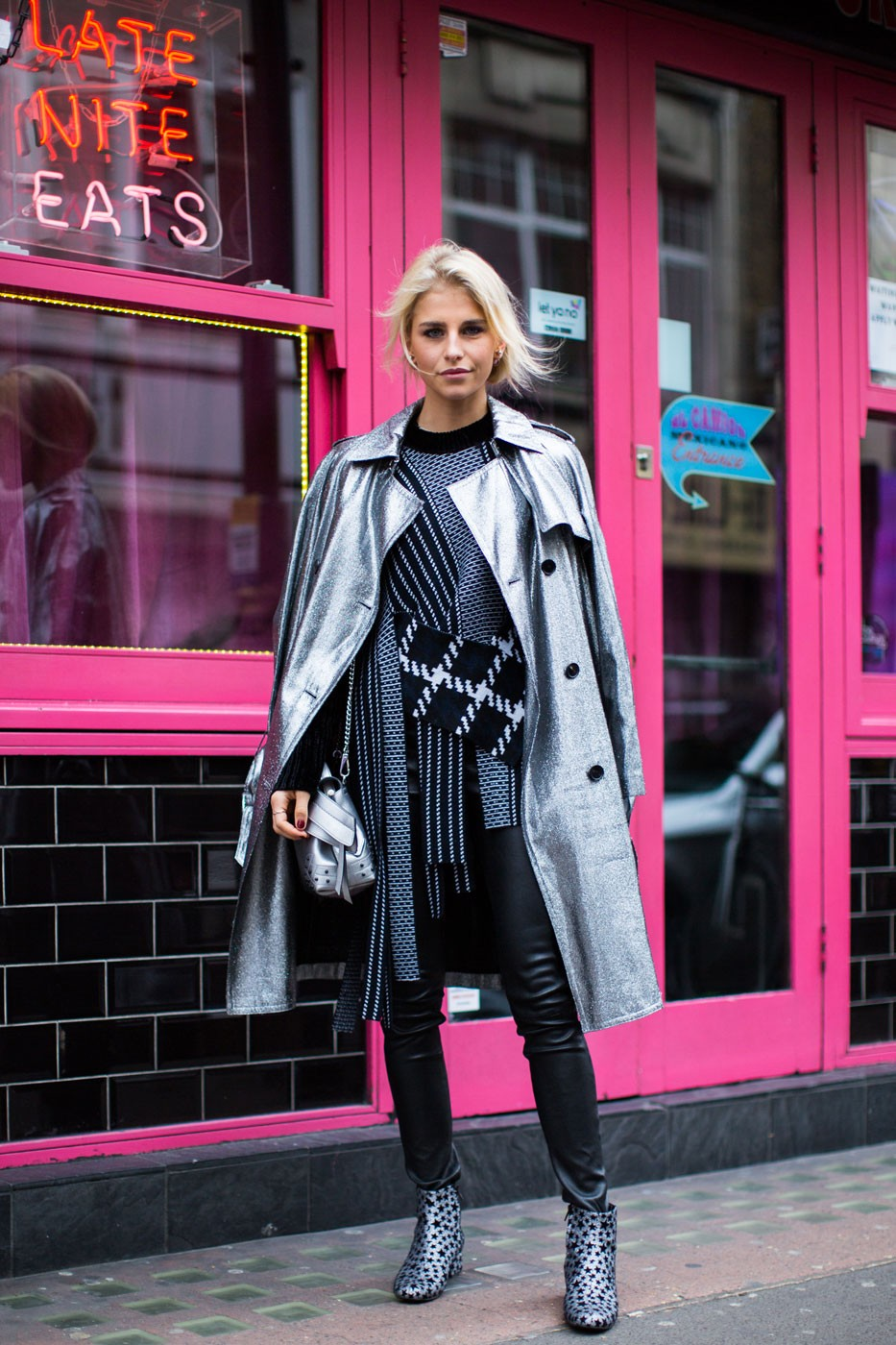 Streetstyle: London Fashion Week wiosna-lato 2017