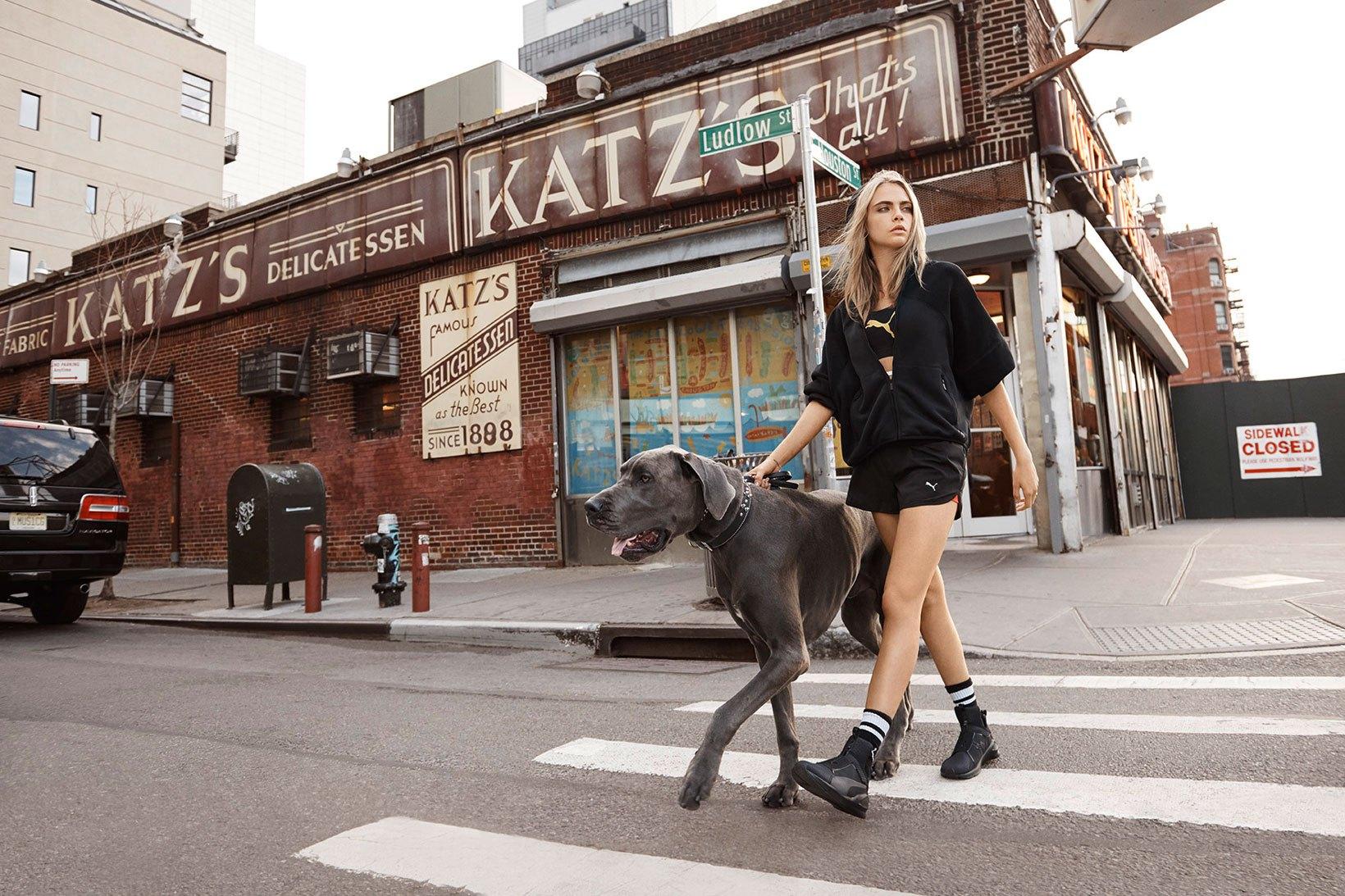 Cara Delevingne twarzą kampanii Puma