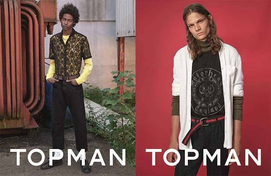 Świąteczna kampania Topman w obiektywie Goshy Rubchinskiy'ego
