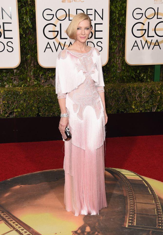 Cate Blanchett jako pierwsza dostaje kreacje Gucci, Dior czy Armani. Dlaczego?