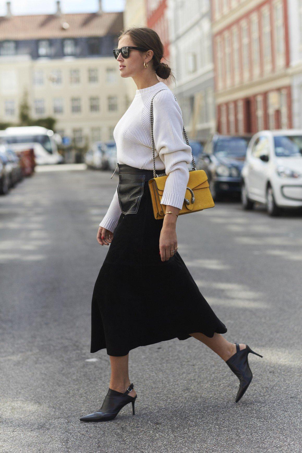 Moda uliczna: jesienne stylizacje