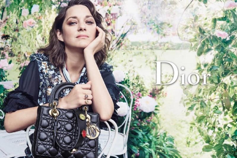 Marion Cotillard twarzą torebek Lady Dior