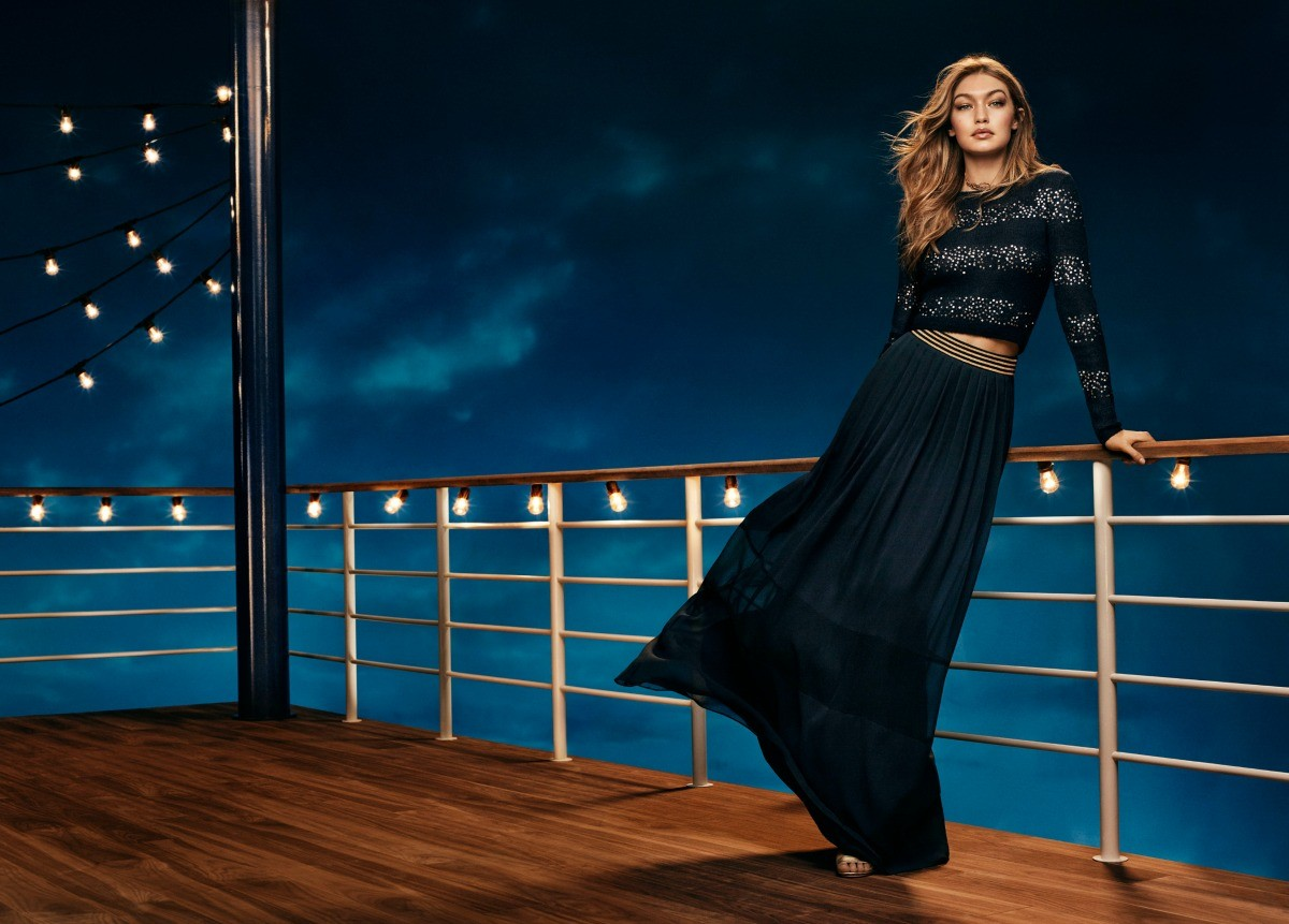 Gigi Hadid gwiazdą świątecznej kampanii Tommy Hilfiger