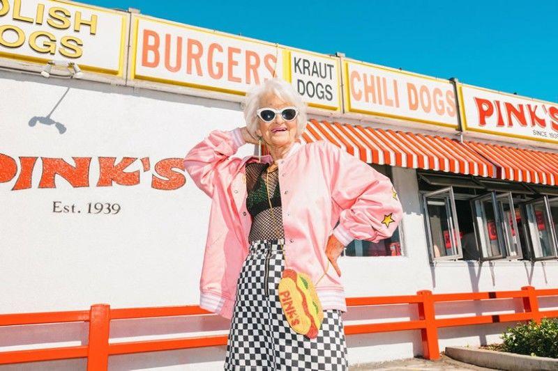 88-letnia Baddie Winkle nową muzą Urban Decay