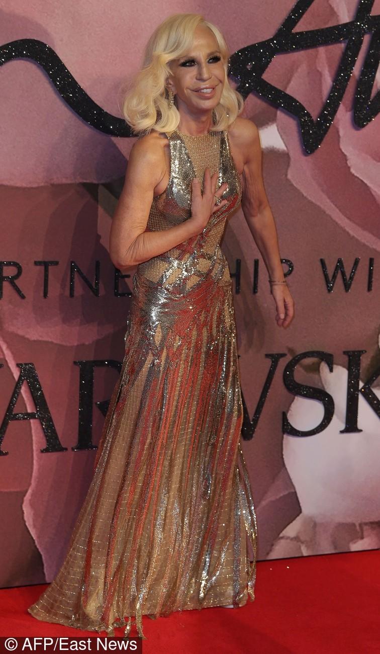 Gwiazdy na rozdaniu Fashion Awards w Londynie