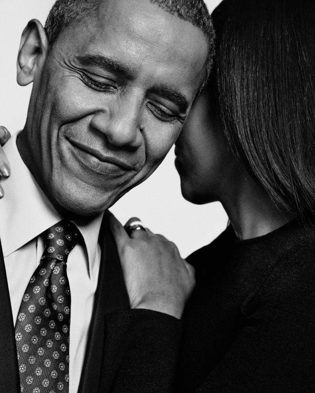 "Michelle i Barrack Obamowie na okładce ""People"""