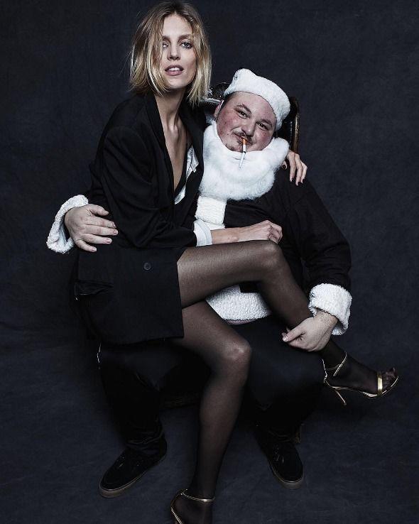 Anja Rubik i Kasia Struss gwiazdami świątecznej kampanii Alexander Wang