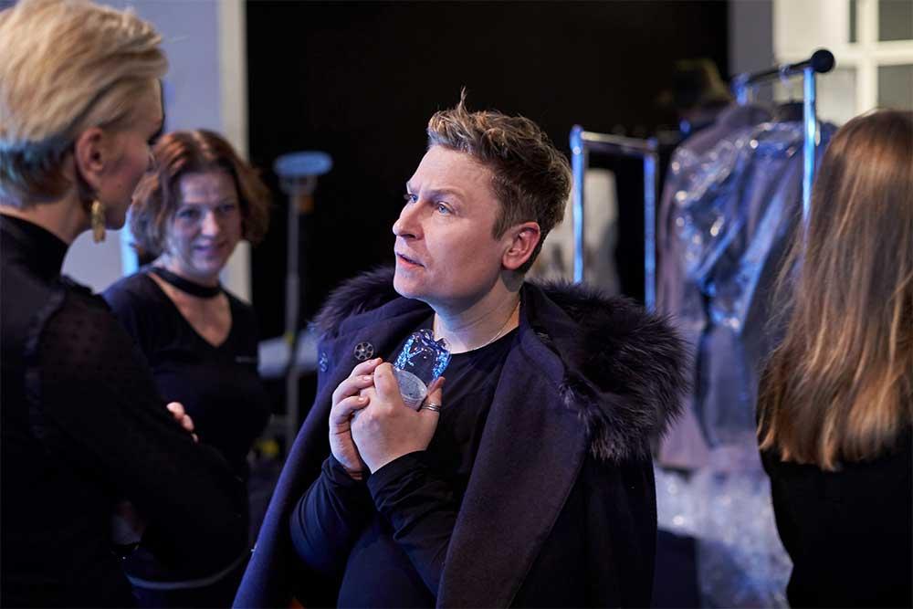 Kulisy pokazu Patrizia Aryton x Dawid Tomaszewski podczas Mercedes-Benz Fashion Week Berlin