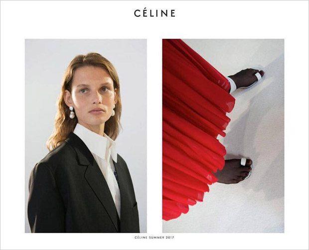 Kampania Céline wiosna-lato 2017