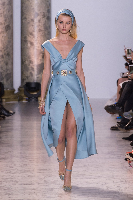Elie Saab haute couture wiosna 2017