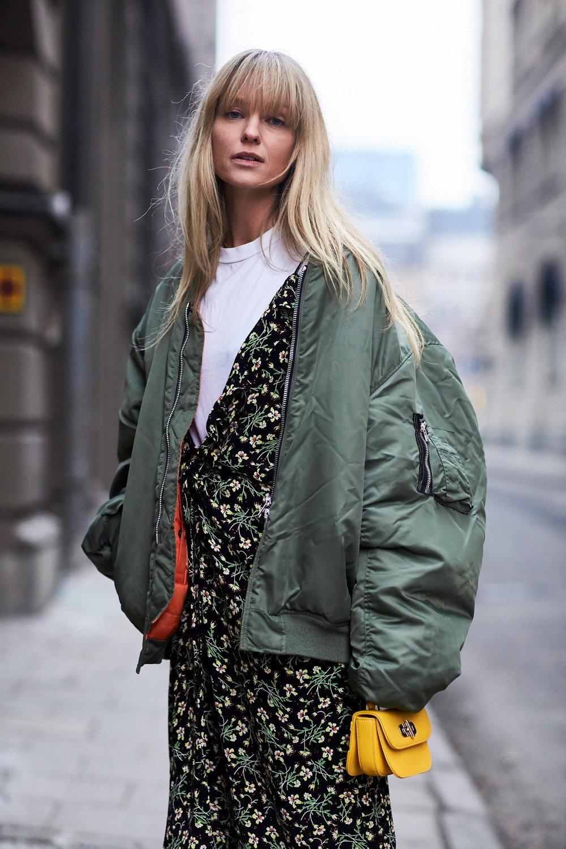 Street style: tydzień mody w Sztokholmie jesień-zima 2017