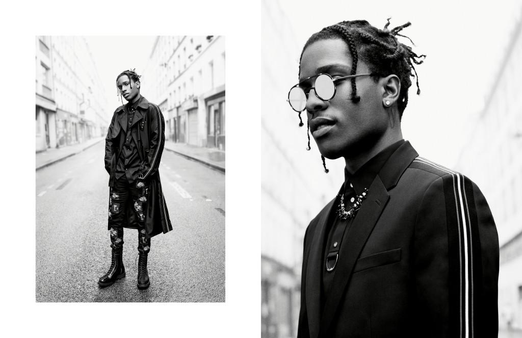 Boy George i A$AP Rocky w kampanii Dior Homme wiosna-lato 2017