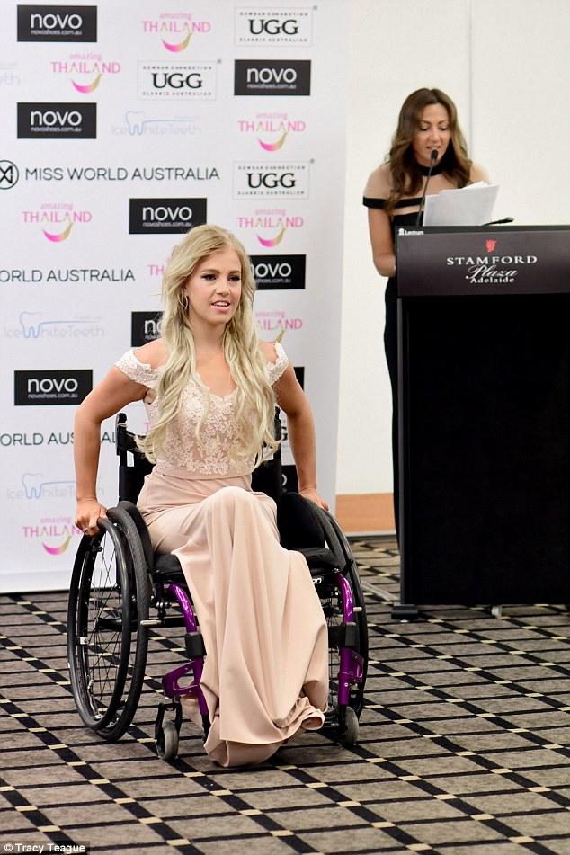 Oto pierwsza na świecie kobieta na wózku, która zawalczy o tytuł Miss World