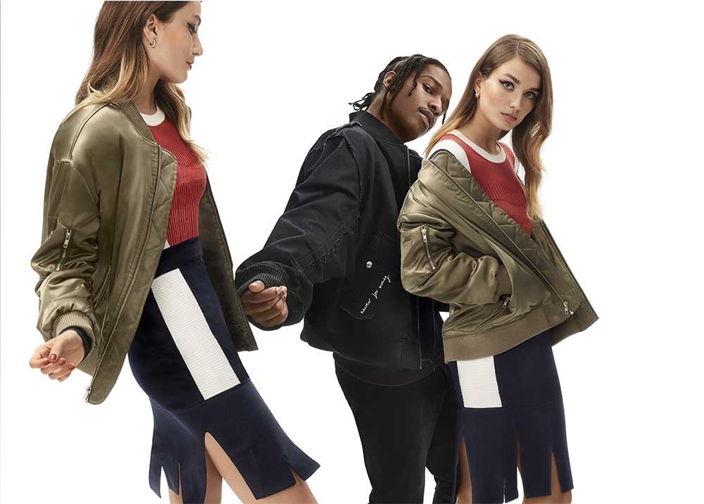 A$AP Rocky i supermodelki w najnowszej kampanii Zalando