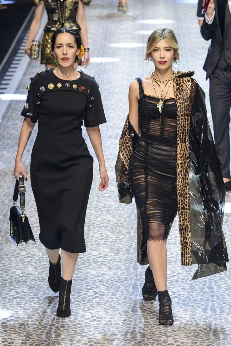 Millenialsi na wybiegu Dolce & Gabbana jesień-zima 2017