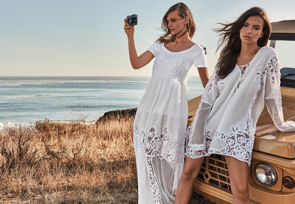 Emily Ratajkowski i Sasha Pivovarova gwiazdami kampanii Twinset