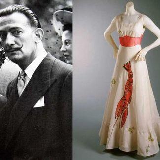 Dali i Schiaparelli - wspólna wystawa pionierów łączenia mody i sztuki