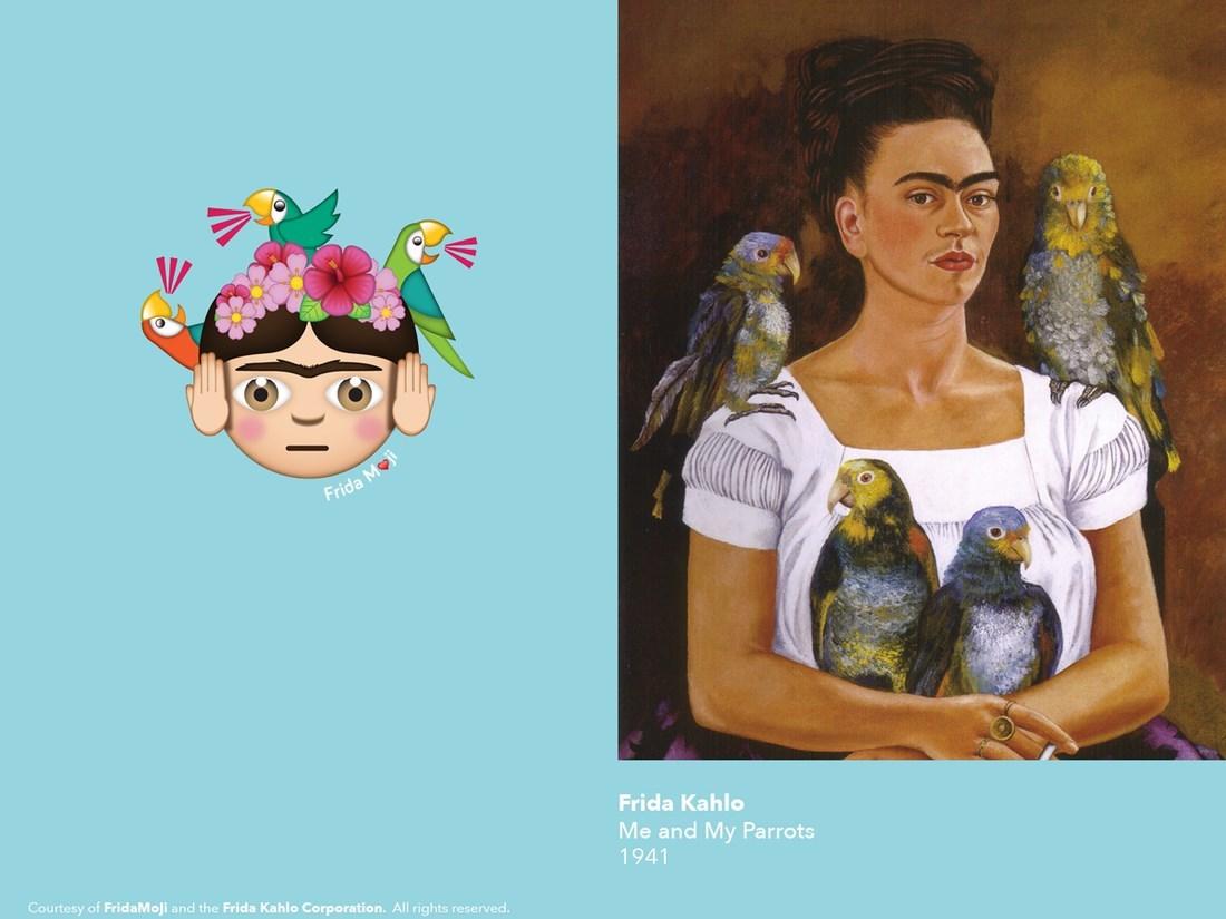 Poznajcie FridaMojis – emoji inspirowanie Fridą Kahlo. Bezbłędne!