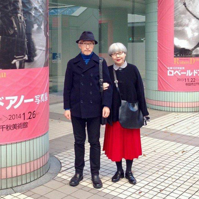 Są razem 37 lat i ubierają się tak samo. Poznajcie niezwykłą parę z Japonii