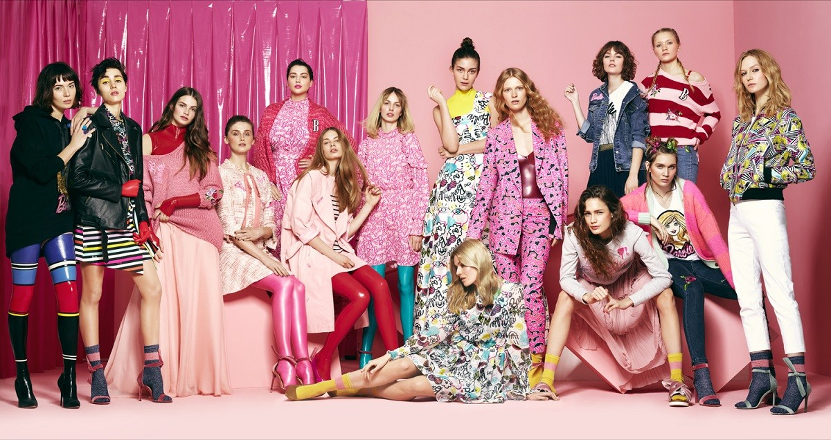 Kampania kolekcji BIZUU x Barbie