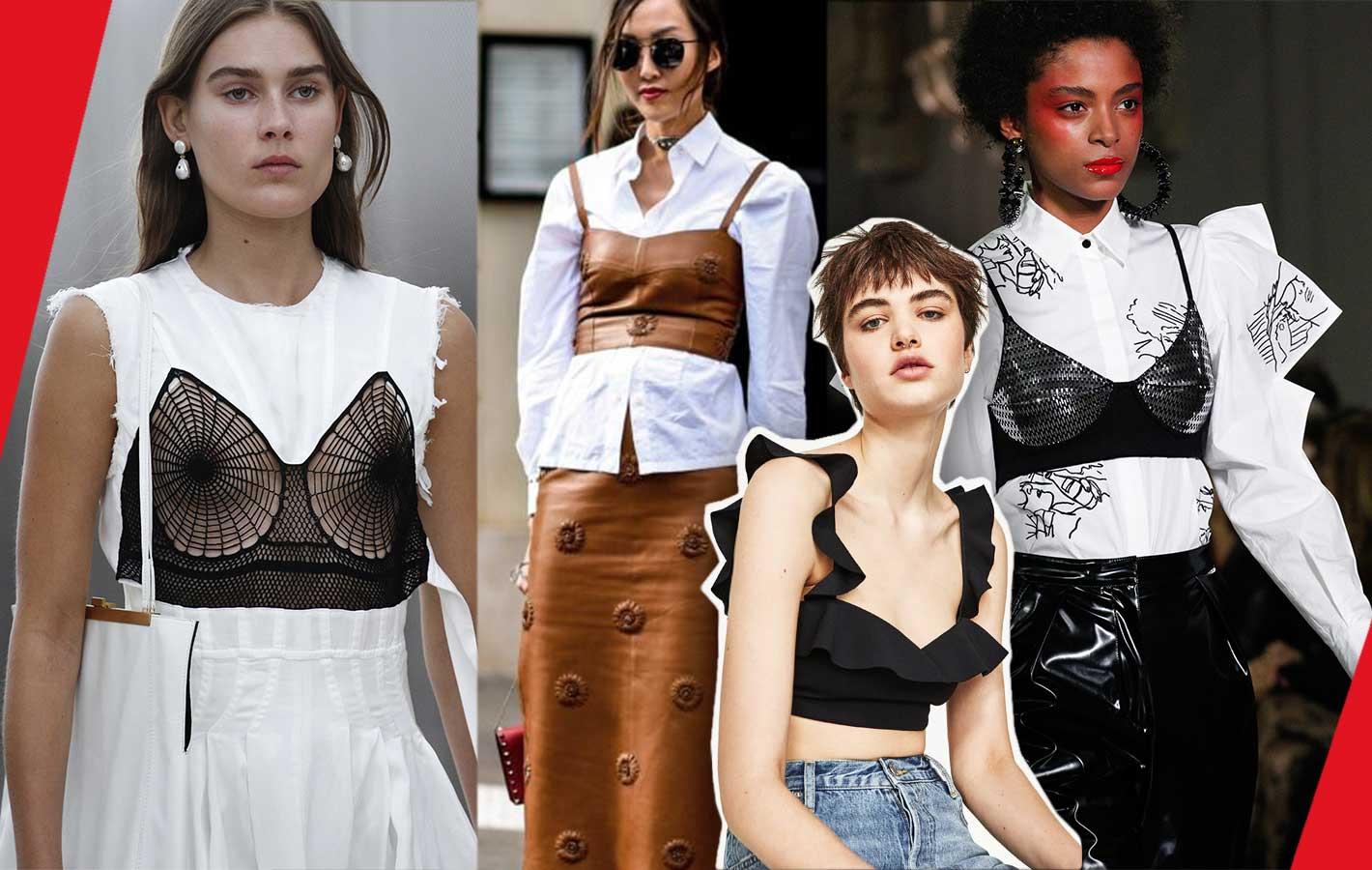 c3bb8e5d2ce147 Trendy wiosna-lato 2017: uwalniamy bieliznę! - Fashionpost
