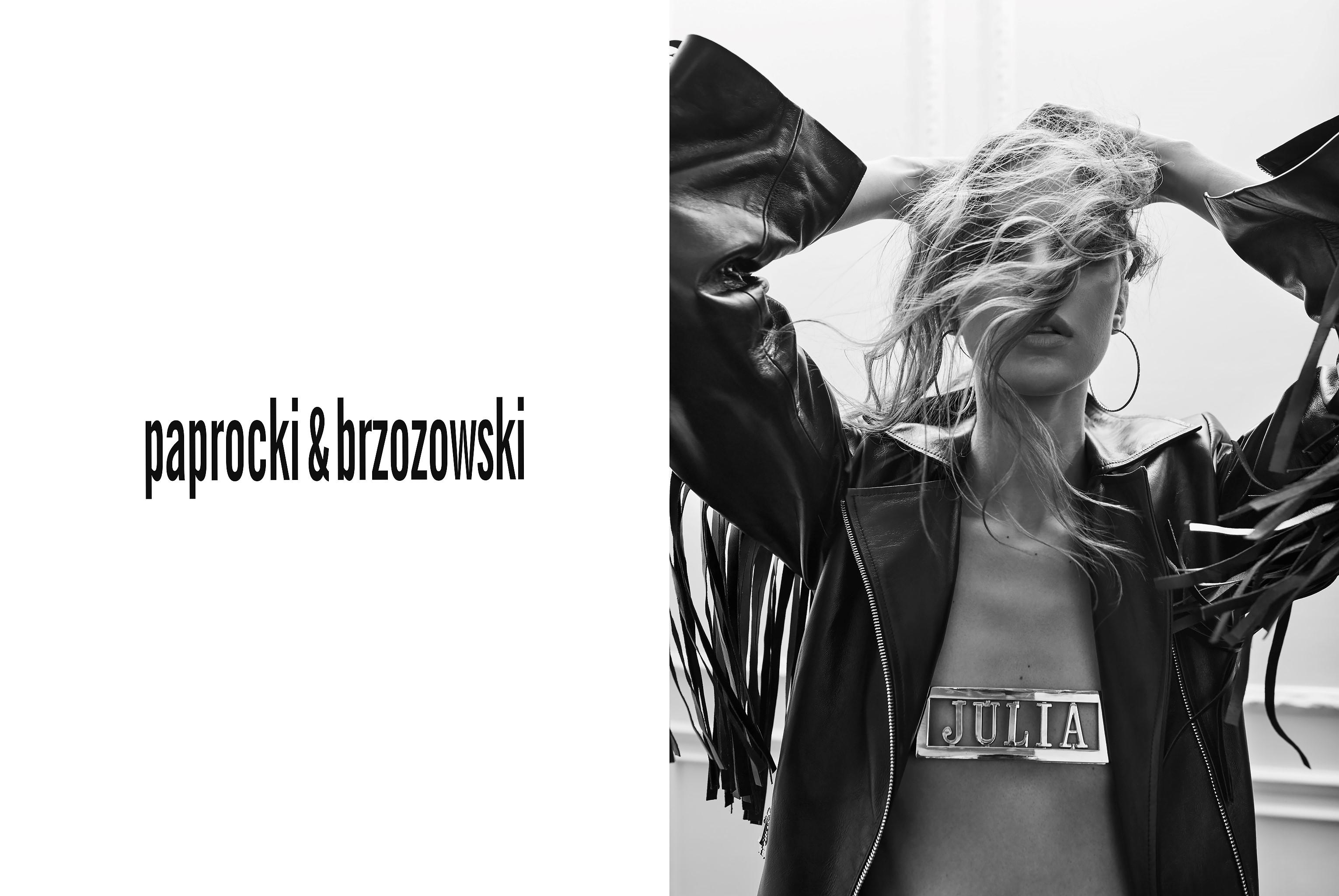 Romantyzm i punk w kampanii Paprocki&Brzozowski wiosna-lato 2017