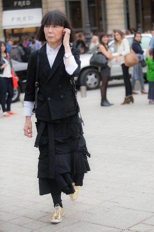8 rzeczy, które powinniście wiedzieć o dyrektor kreatywnej Comme des Garçons, Rei Kawakubo