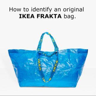 IKEA skomentowała torbę Balenciagi imitującą ich kultowy produkt. I zrobiła to wyśmienicie!
