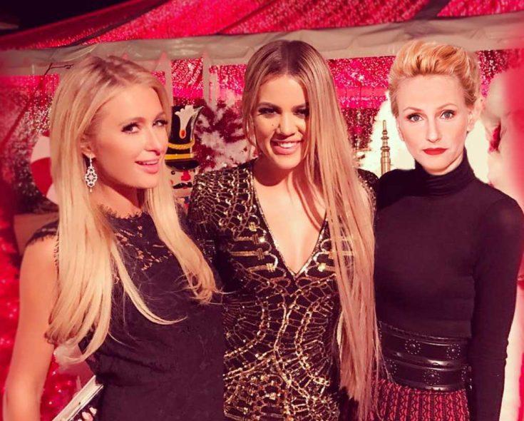 Paris, Khloe Kardashian i współzałożycielka Fashion Post, Justyna Duszyńska