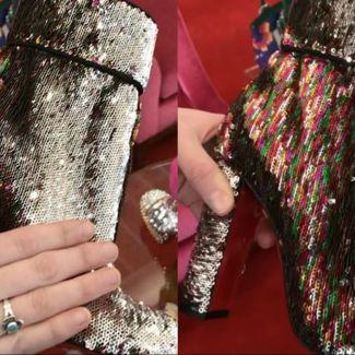 """Christian Louboutin prezentuje buty ze """"skóry jednorożca"""""""