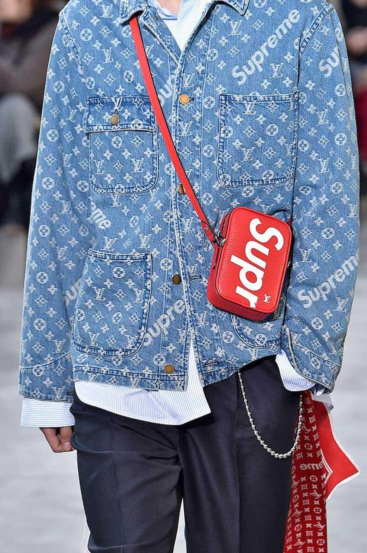 Dominik Sadoch, model Louis Vuitton, zdradza nam swoje ulubione elementy kolekcji domu mody i Supreme