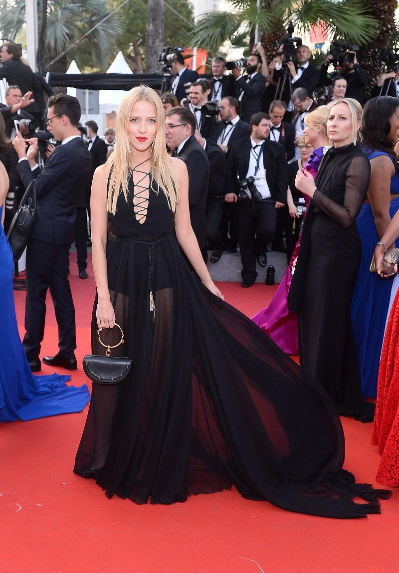 Hot or not: Jessica Mercedes w sukience Łukasza Jemioła w Cannes [SONDA]