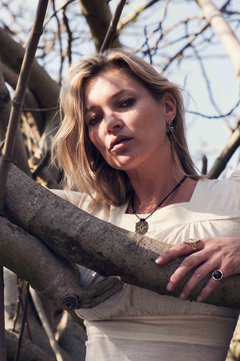 Kate Moss debiutuje z wyjątkową kolekcją biżuterii