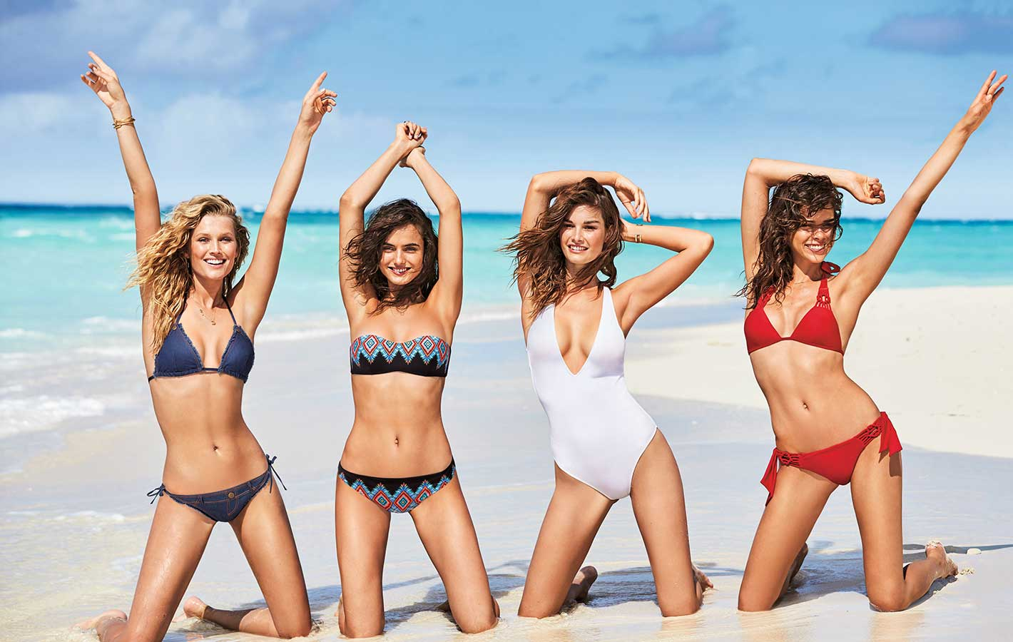 Gang modelek w nowej kampanii Calzedonia