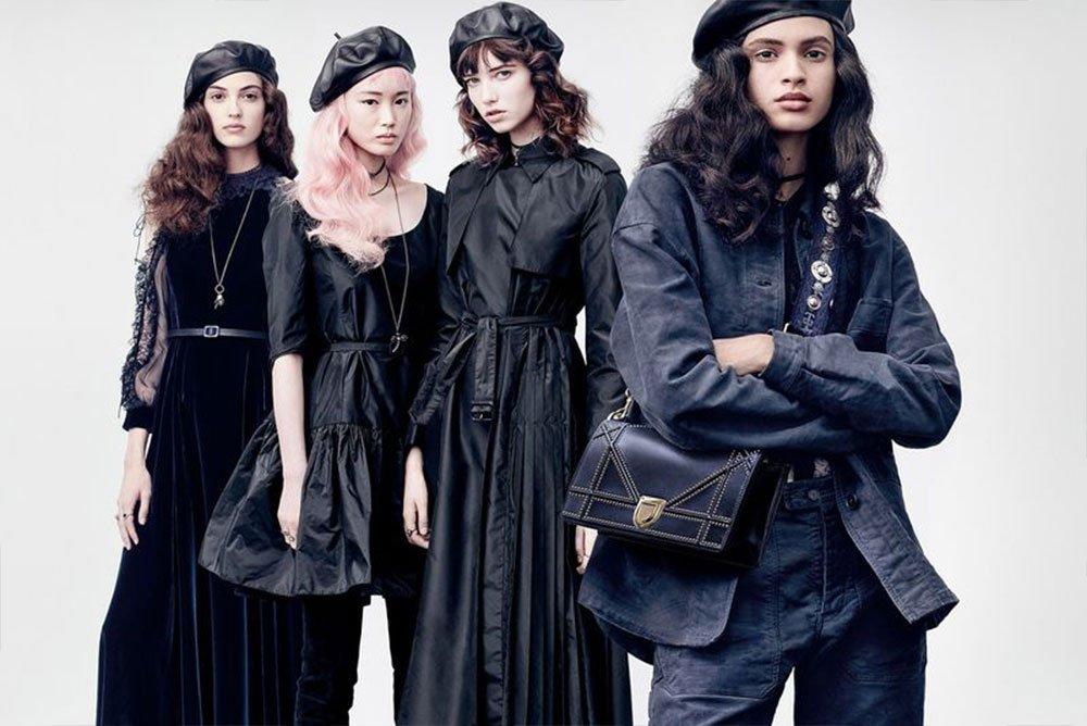 Współczesne wojowniczki kampanii Dior jesień-zima 2017