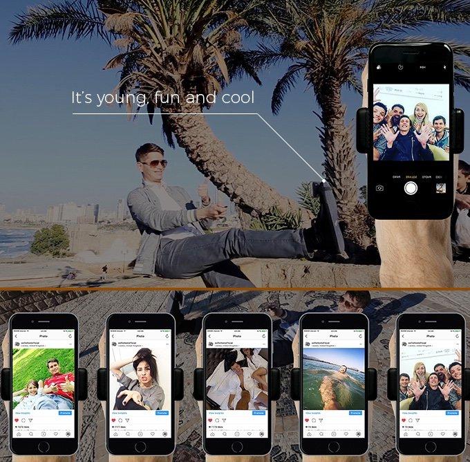 Oto najnowszy wynalazek ludzkości: zrób selfie swoją nogą