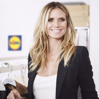 Heidi Klum zaprojektuje linię ubrań dla... Lidla