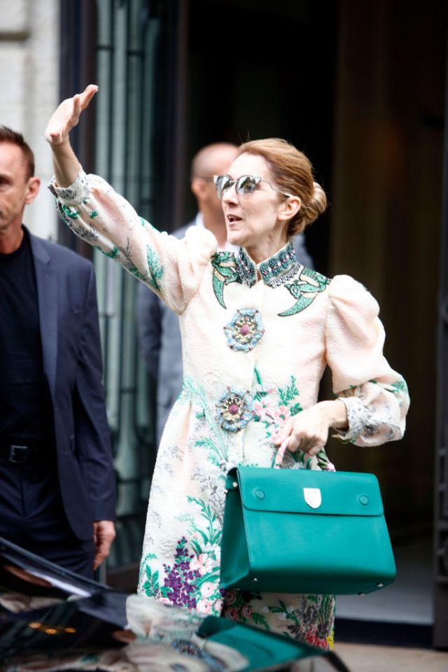 Najlepsze stylizacje Celine Dion z tygodnia mody haute couture
