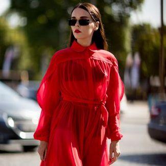 Street style: najlepsze stylizacje z tygodnia haute couture jesień-zima 2017