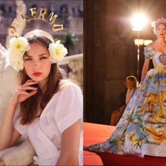 Spektakularny pokaz Dolce&Gabbana Alta Moda w Palermo