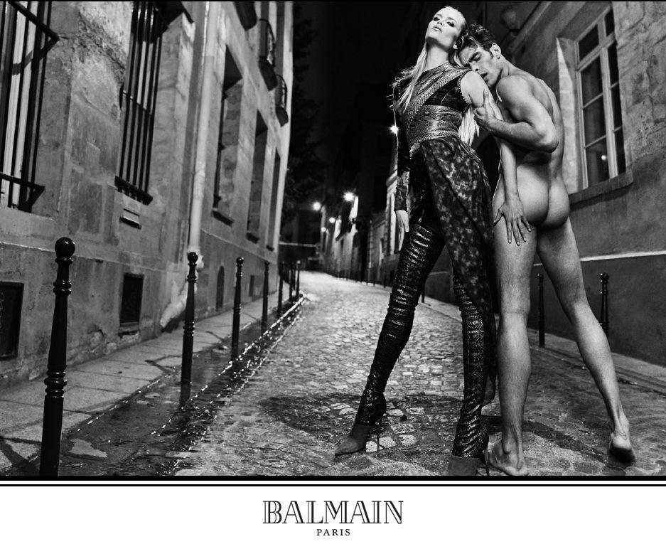 Jesienna kampania Balmain w obiektywie Oliviera Rousteinga