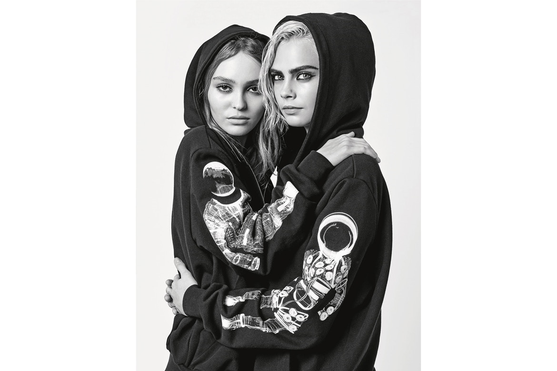 Ulubienice Karla Lagerfelda w kampanii Chanel jesień-zima 2017